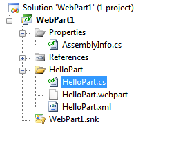 Solution Explorer in VS 2008